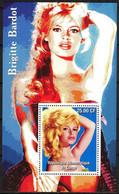 {F0130}  LABEL Cinema Actress Brigitte Bardot S/S MNH Cinderella ! - Fantasy Labels