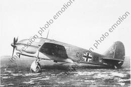 PHOTO RETIRAGE REPRINT AVION   CAPRONI CA-314 ITALY WW2 ALLEMAND - Aviation
