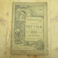 Gent Almanak Het Volk 1914 96 Blz - Antique