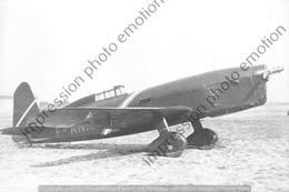PHOTO RETIRAGE REPRINT AVION  CAUDRON 450 - Aviation