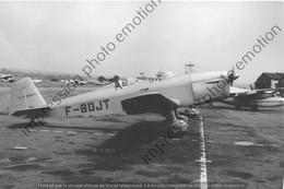 PHOTO RETIRAGE REPRINT AVION    CAUDRON C 601 F-BDJT 1959 - Luchtvaart