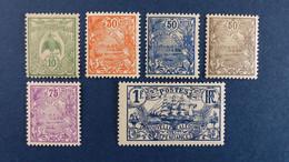 Nouvelle-Calédonie - Série YT N° 115 - 119 - 120 - 121 - 124 - 125 * Neuf Avec Charnière - Ungebraucht