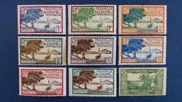 Nouvelle-Calédonie - Série YT N° 139 à 161 Sauf 151 - 153 - 155 - 155A * Neuf Avec Charnière - Ungebraucht
