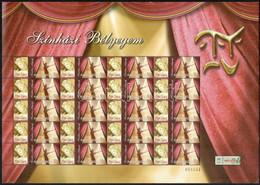 ** 2005-2008 Színház Bélyegem Gyűjtemény, 41 Db Különféle Megszemélyesített Teljes ív 50Ft Bélyegekkel (594.500) (apró H - Non Classificati