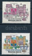 ** 1969 Dunakanyar 40f, Látványos Tévnyomat: Hiányzó Kék és Sárga Színnyomatok. A Szakirodalomban és A Bélyegkereskedele - Non Classificati