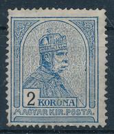* 1906 Turul 2K 4. Vízjelállás (85.000) - Non Classificati