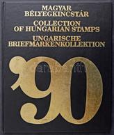 ** 1990 Hologrammos Címer Blokk Piros Sorszámmal Magyar Bélyegkincstár Könyvben,viseltes Tokban (60.000) - Non Classificati