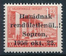 ** 1956 Soproni Kiadás 1.20Ft (70.000) MB Garancia Bélyegzővel - Non Classificati