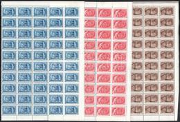 ** 1950 Újítók 50 Db Sor Félívekben (50.000) - Non Classificati