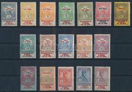 **, * 1914 Hadisegély I. Sor (60.000) (több értéken Apró Foltok, Törések / Small Spots, Creases) - Non Classificati