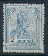 ** 1913 Turul 2K Fekvő Vízjellel (60.000) - Non Classificati