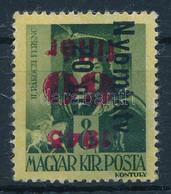 * 1946 Betűs Nyomtatv. 20gr/60f/8f Az Alapbélyeg Fordított Felülnyomatával (50.000) - Non Classificati