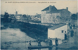 44  Saint Julien De Concelles   - Vue Generale De Caherault - Other Municipalities