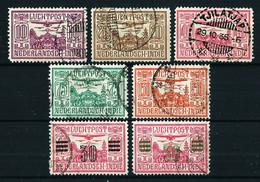 India (Holandesa) Nº A-6/10-11/11a Usado - Nederlands-Indië