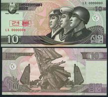 KOREA NORTH P59s 10 WON 2002 Issued 2009      UNC. - Korea, North