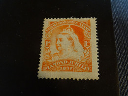 Grande-Bretagne   DIAMOND JUBILEE 1897 Commemorative Stamp  Neuf* - Unused Stamps