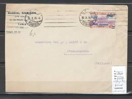 Tunisie - Lettre Avion - Pour Les Pays Bas ( Hollande ) 1935 - Storia Postale