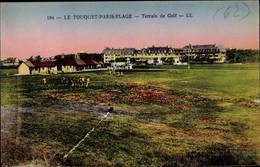 CPA Le Touquet Paris Plage Pas De Calais, Terrain De Golf - Otros Municipios