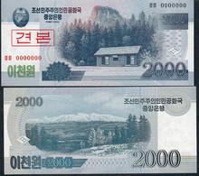 KOREA NORTH P65s 2000 WON 2008 Issued 2009      UNC. - Korea, North