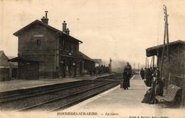 YVELINES - 78 - BONNIERES-SUR-SEINE - LA GARE - Bonnieres Sur Seine