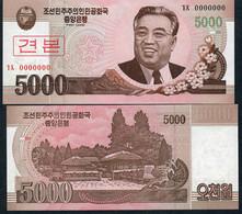 KOREA NORTH P66s 5000 WON 2008 Issued 2009      UNC. - Korea, North