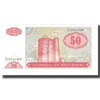 Billet, Azerbaïdjan, 50 Manat, KM:17b, NEUF - Azerbaïjan