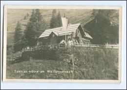 Y19334/ Tourist. Hütte Wöllanernockhaus  Kärnten Foto AK 1939 - Unclassified