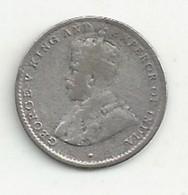 Ceylan - 10 Cent - 1925 - TB/TTB - Sri Lanka