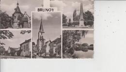 91 Divers Aspects De BRUNOY  -  CPSM PF  - - Brunoy