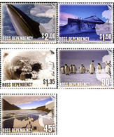 Ref. 183061 * MNH * - NEW ZEALAND. Ross Dependency. 2005. PICTURES OF THE ISLAND . FOTOGRAFIAS DE LA ISLA - Used Stamps