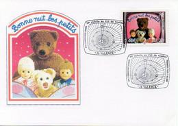 Timbre Télévision Bonne Nuit Les Petits Le Siècle Au Fil Du Timbre Premier Jour Oblitération 17.03.2001 VALENCE - TBE - Other