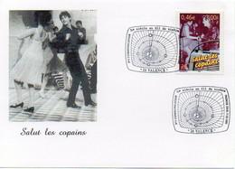 Timbre Communication Salut Les Copains Le Siècle Au Fil Du Timbre Premier Jour Oblitération 17.03.2001 VALENCE - TBE - Other