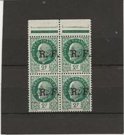TIMBRES LIBERATION LYON N° 11 BLOC DE 4 NEUF SANS CHARNIERE -ANNEE 1944 - COTE : 5,20 € - Liberation