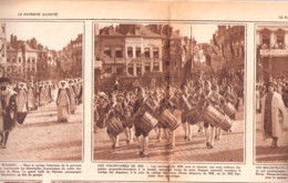 Mons-Hainaut-Fêtes Du Centenaire-Le Cortège Historique-Chanoinesses-Volontaires 1830-St Georges-Patriote Illustré-1930 - Non Classificati