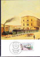 Berlin - 150 Jahre Eisenbahn Berlin-Potsdam (MiNr: 822) 1988 - MK - Maximum Cards