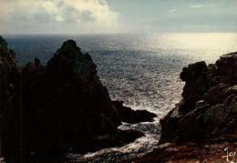Dep 29 , Cpm  CAMARET , Pointe De Pen-Hir , Les Rochers Festonnés Au Coucher De Soleil , MX 367 , édit. JOS  (27729) - Camaret-sur-Mer