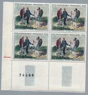 FRANCE 1962 - Yv 1363  - Bloc De 4 Neuf** - Nuevos