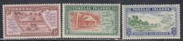 Tokelau Islands, Scott #1-3, Mint Hinged, Scenes Of Islands And Maps, Issued 1948 - Tokelau