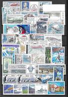 TAAF Belle Collection Neufs ** MNH Années 1980/2000. Uniquement Timbres à Forte Valeur Faciale TB. A Saisir! - Collections, Lots & Series