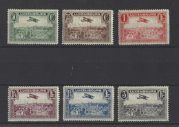 LUXEMBOURG.  YT PA N° 1/6  Neuf *   1931 - Unused Stamps