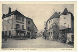 CPA   PONT De CHERUY   Place Du Constantin - Pont-de-Chéruy