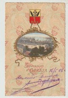 Ukraine Souvenir D' ODESSA  Le Pont De Quarantaine 1906 - Ukraine