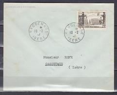 Brief Van Sassenage Isere Naar Sassenage (Isere) - Storia Postale