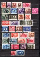 Rumanía    1952  .-   Y&T   Nº    1215-1217/1218-1220/1238-1240/1241-1245/1256 - Usado