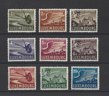 LUXEMBOURG.  YT PA N° 7/15  Neuf *   1946 - Unused Stamps