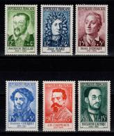 YV 1166 à 1171 N** Complete Celebrites 1958 Cote 15 Euros - Unused Stamps