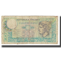 Billet, Italie, 500 Lire, 1974, 1974-02-14, KM:94, B - 500 Liras