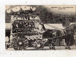 ARGENTRE-DU-PLESSIS FETE DE JEANNE D'ARC 24 AOUT 1913 - Autres Communes