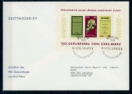 DDR MiNr. Block 27 Ersttagsbriefe/ FDC (GG1581 - FDC: Briefe