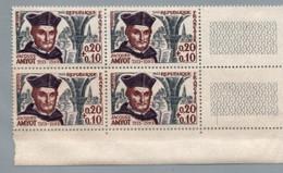 FRANCE 1963 - Yv 1370 / 1375 (Célébrités)  - Bloc De 4 Neuf** - Nuevos